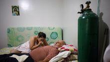 Família de Manaus usa oxigênio em casa para salvar pai da covid-19