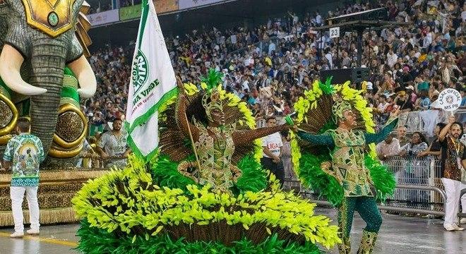A Mancha Verde foi a campeã do Carnaval 2020