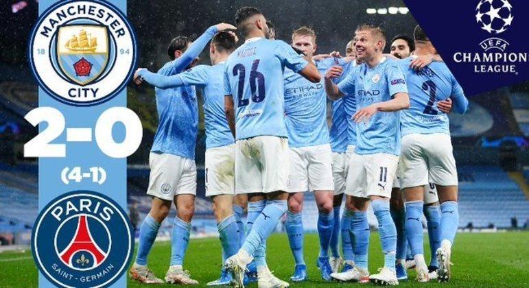O City, 2 X 1 em Paris e 2 X 0 em Manchester, a devastação do PSG