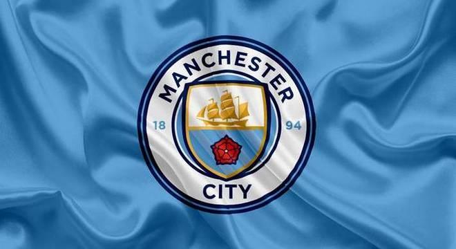 O distintivo do Manchester City