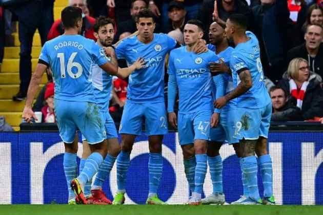 1º Manchester City (Inglaterra): 1,28 bilhão de euros (R$8,11 bilhões)