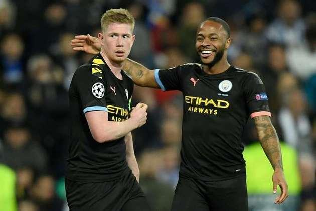Manchester City: Sterling, De Bruyne e Mahrez