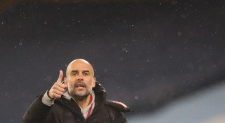 Manchester City x Aston Villa - Pep Guardiola