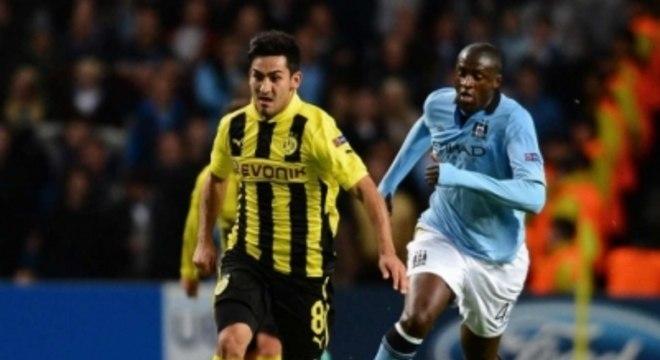 Manchester City x Borussia Dortmund