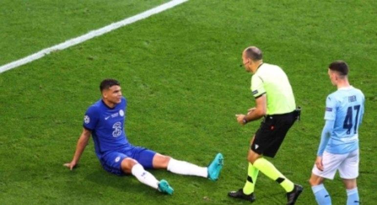 Manchester City x Chelsea - Final da Champions League - Thiago Silva