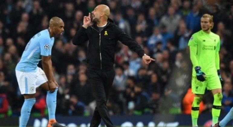 Manchester City x Liverpool - Champions League 2017/18 - Guardiola