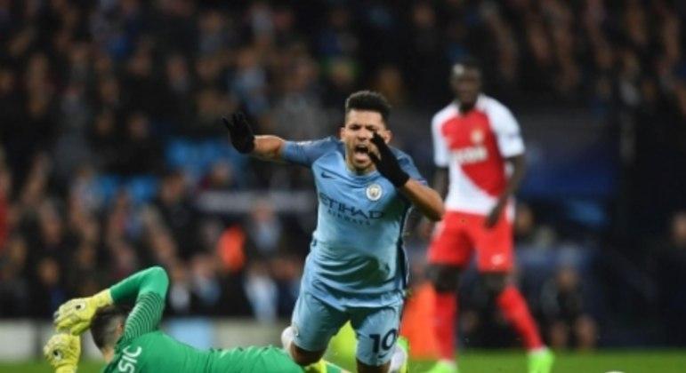 Manchester City x Monaco - Champions League 2016/17 - Agüero