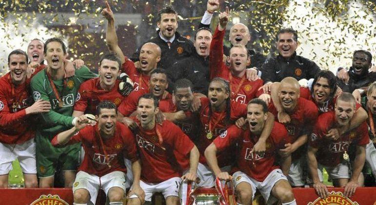 Manchester United, o campeão de 2007/2008