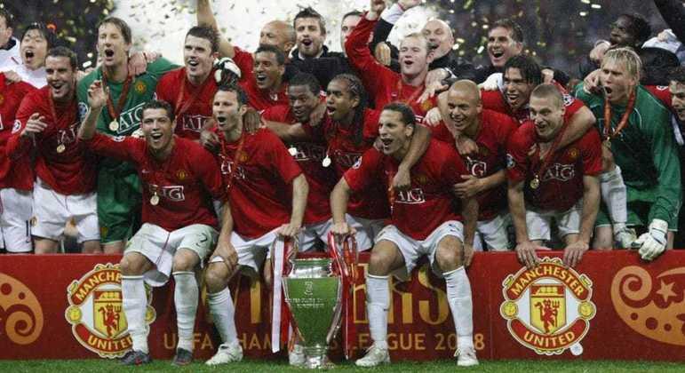 O Manchester United de 2007/2008