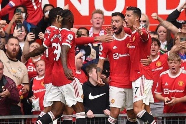 2º Manchester United (Inglaterra): 1,214 bilhão de euros (R$7,69 bilhões)