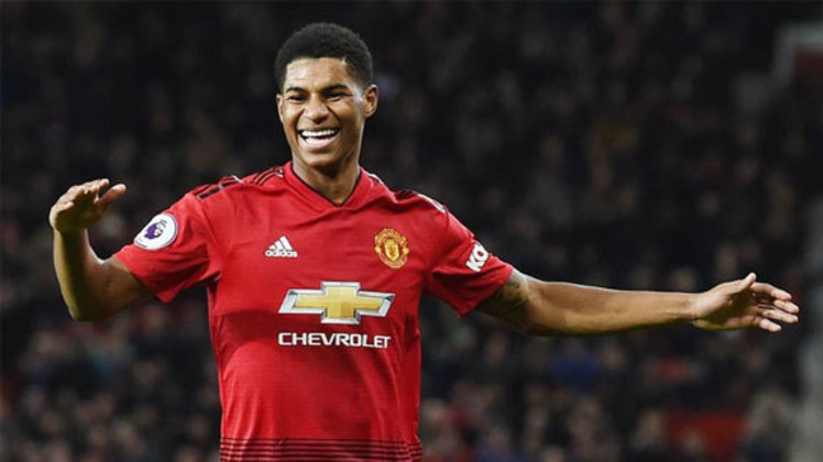 Manchester United: Marcus Rashford (23 anos) - Posição: atacante - Valor de mercado: 85 milhões de euros