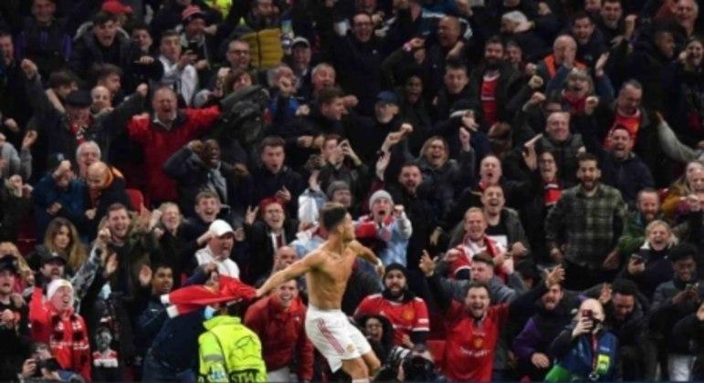 Manchester United x Villarreal - Cristiano Ronaldo