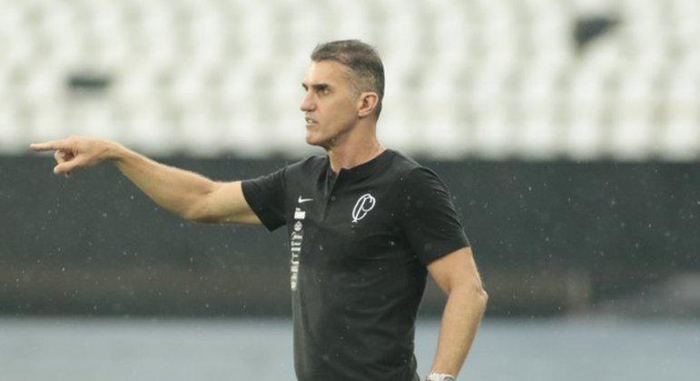 Mancini vem conseguindo ótimos resultados com o Corinthians