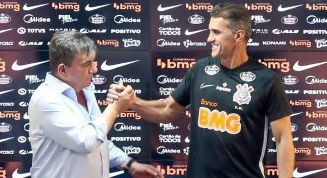 Andrés 'encantado' com Mancini. Duílio se contagiou e quer mantê-lo em 2021