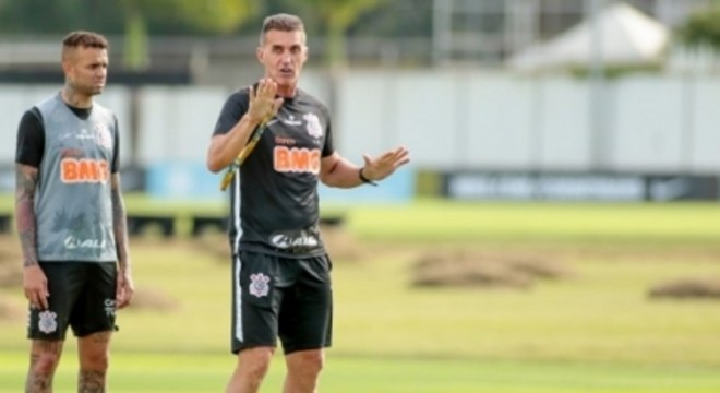Mancini - Treino Corinthians