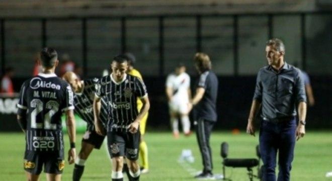 Mancini - Vasco x Corinthians