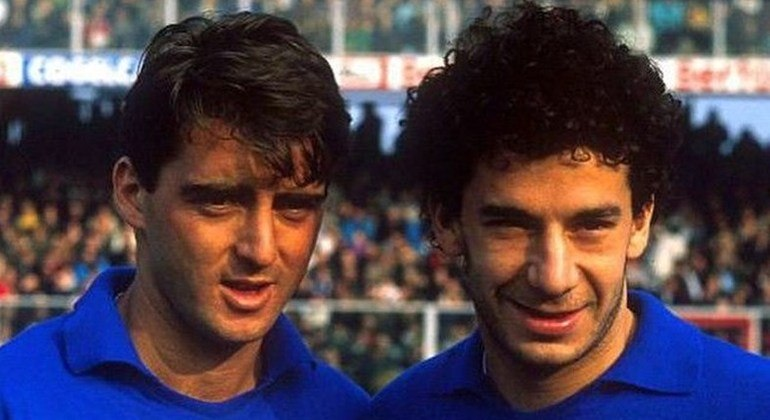 """Mancini e Vialli, os """"Gêmeos do Gol"""" na Sampdoria"""
