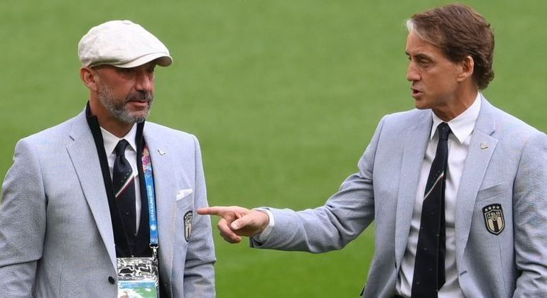 "Vialli e Mancini, na ""Azzurra"" de agora"