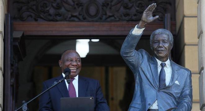 O discurso do presidente Ramaphosa foi o ponto principal da agenda deste dia comemorativo