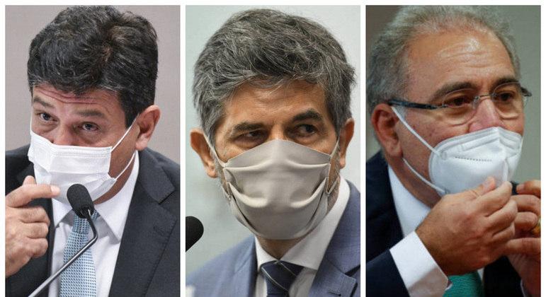 Mandetta, Teich e Queroiga tentaram explicar na CPI o que aconteceu no Amazonas