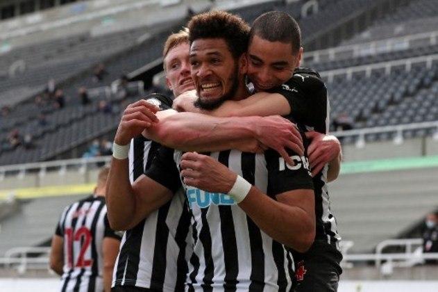 MANDOU BEM - Apesar de discreto no duelo contra o Tottenham, Joelinton abriu o placar para o Newcastle no jogo que terminou em 2 a 2
