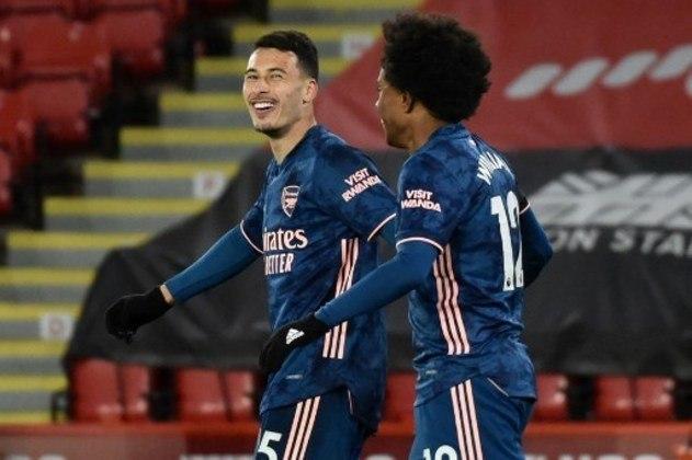MANDOU BEM - Após muito tempo lesionado, Gabriel Martinelli vem voltando aos poucos e anotou um gol no último final de semana contra o Sheffield United