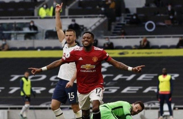 MANDOU BEM -  Fred participou bem do jogo contra o Tottenham e marcou o gol que deu início a reação do Manchester United