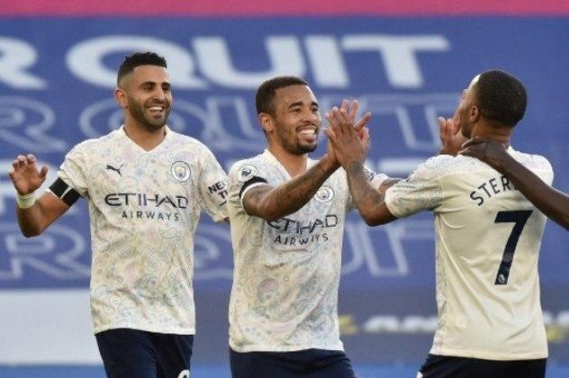 MANDOU BEM - Gabriel Jesus deixou sua marca na vitória do Manchester City sobre o Leicester por 2 a 0 fora de casa