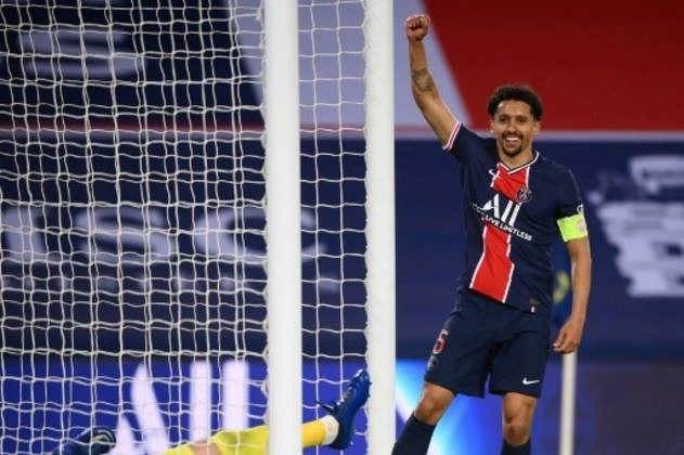 MANDOU BEM - Marquinhos marcou mais um gol de cabeça na temporada e foi seguro na defesa