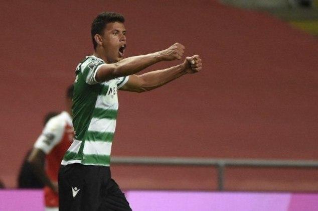 MANDOU BEM - Matheus Nunes anotou o gol da vitória do Sporting sobre o Braga, o que aproximou os Leões do título do Campeonato Português