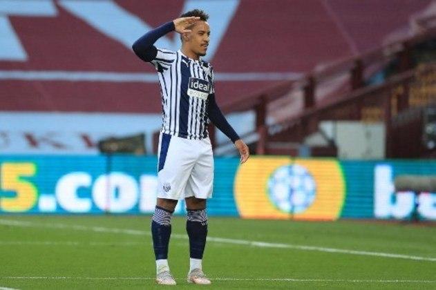 MANDOU BEM - Matheus Pereira marcou o primeiro gol do West Brom em jogo difícil contra o Aston Villa