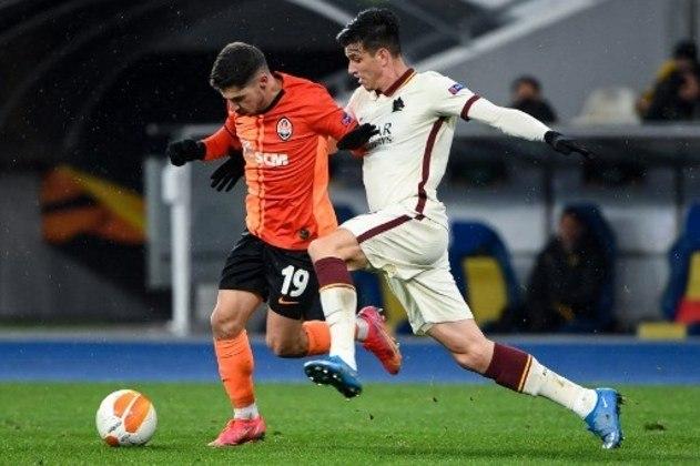 MANDOU MAL - Ibañez falhou no segundo gol do Napoli e a Roma foi derrotada por 2 a 0