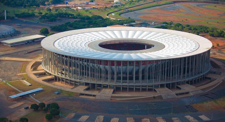 Mané Garrincha é palco da abertura da Copa América, entre Brasil e Venezuela neste domingo