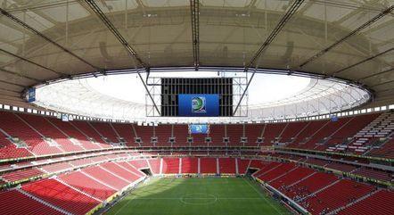 Mané Garrincha está na lista para receber jogos