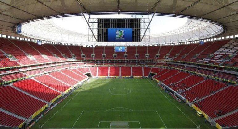 Mané Garrincha, em Brasília, receberia três jogos importantes nos próximos dias