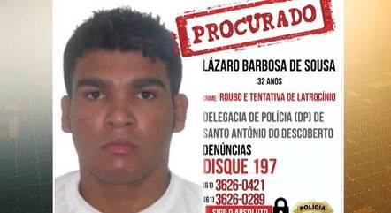 Autoridades alertam que trotes sobre a localização de Lázaro Barbosa têm prejudicado buscas