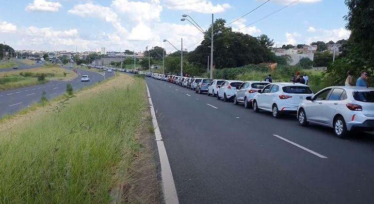 Motoristas de aplicativo fazem protestos contra tarifas promocionais