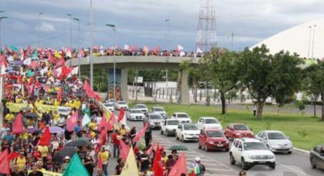 Manifestação Fórum Sindical