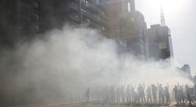 Manifestações na av, Paulista tinham grupos pós e contra o governo Bolsonaro