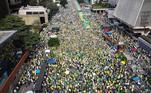manifestação pró-bolsonaro, paulista,