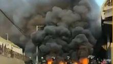 Manifestantes põem fogo em pneus e bloqueiam Terminal João Dias (SP)