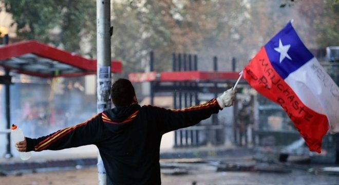 Chile está mergulhado há semanas em uma profunda crise socioeconômica