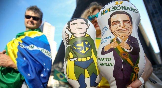 Apesar da popularidade, Moro nega ter pretensão de disputar a Presidência