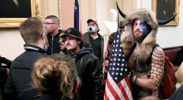manifestantes EUA