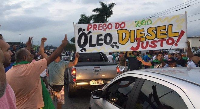 Protesto em refinaria de Duque de Caxias começou na segunda-feira