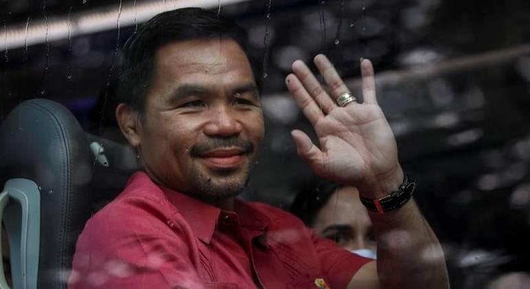 Manny Pacquiao oficializou sua candidatura para se tornar presidente de Filipinas