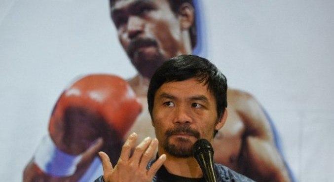 Filipinas: boxeador Manny Pacquiao se candidata à presidência do país