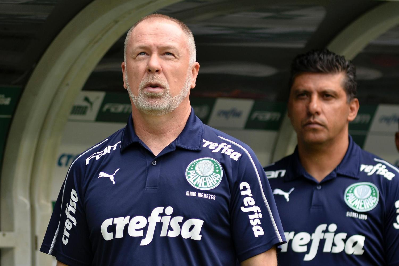 Mano Menezes ficou muito abalado com a demissão no Palmeiras. Só 20 jogos