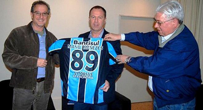 Quando completou 89 vitórias pelo Grêmio