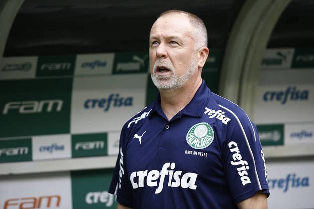 Mano Menezes: 20 jogos / 11 vitórias / 5 empates / 4 derrotas - aproveitamento: 63,3%